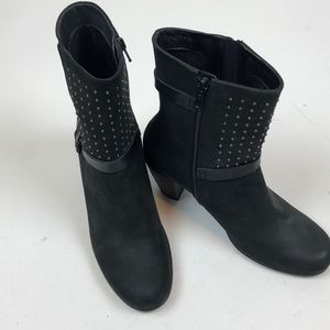 ECCO Suede Studded Booties